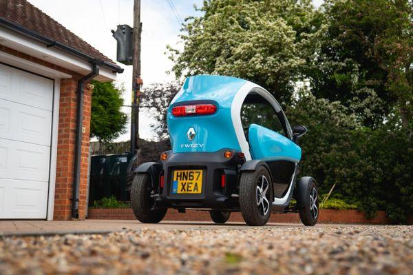 Renault Twizy rear