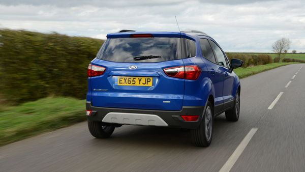 Ford EcoSport ride and handling