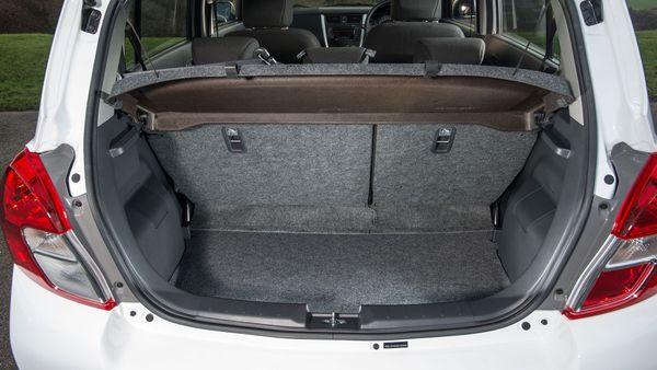 Suzuki Celerio boot