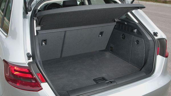 2013 Audi A3 Sportback boot