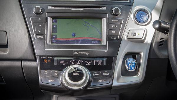 Toyota Prius+ equipment