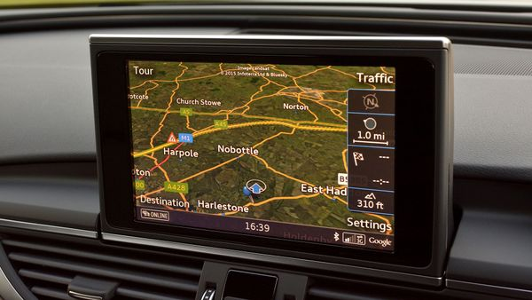 Audi A6 allroad equipment