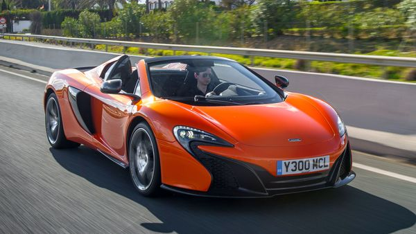 McLaren 650S exterior