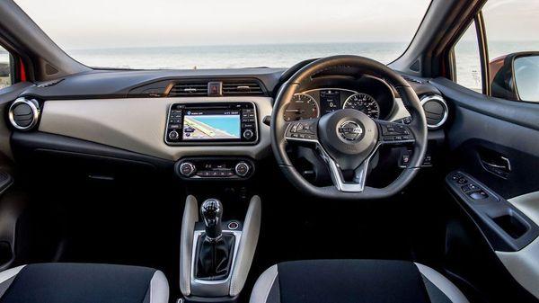 Nissan Micra interior