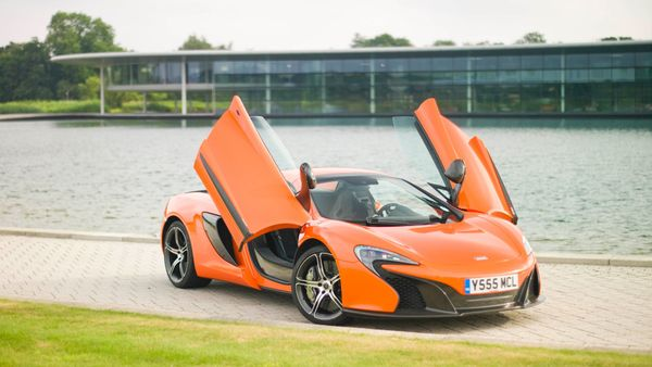 McLaren 650S styling