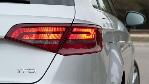 2013 Audi A3 Sportback light