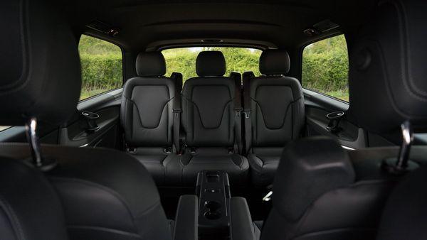 2015 Mercedes-Benz V-Class rear
