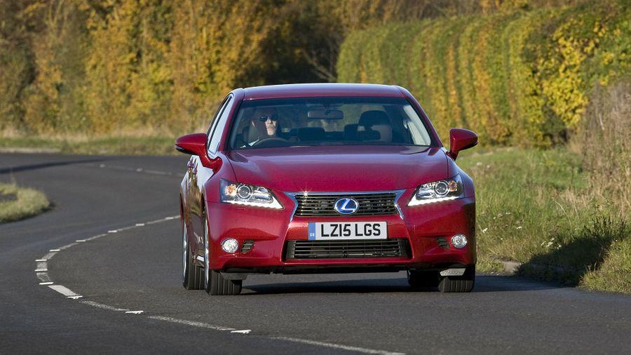Lexus GS ride and handling