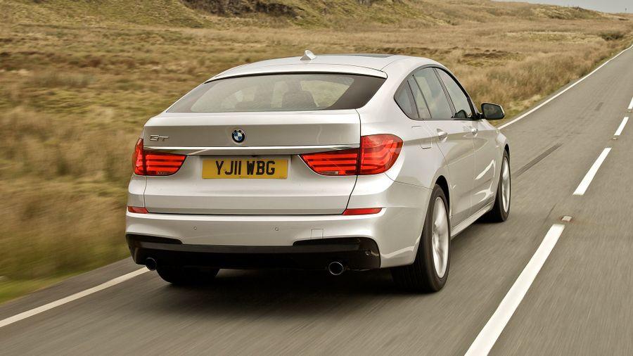 BMW 5 Series GT performance