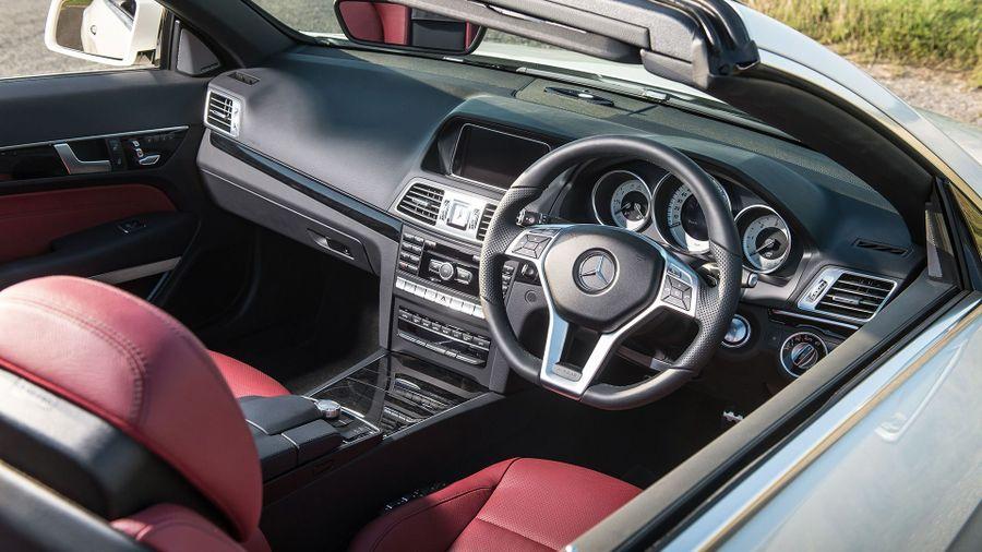 Mercedes E-Class cabriolet