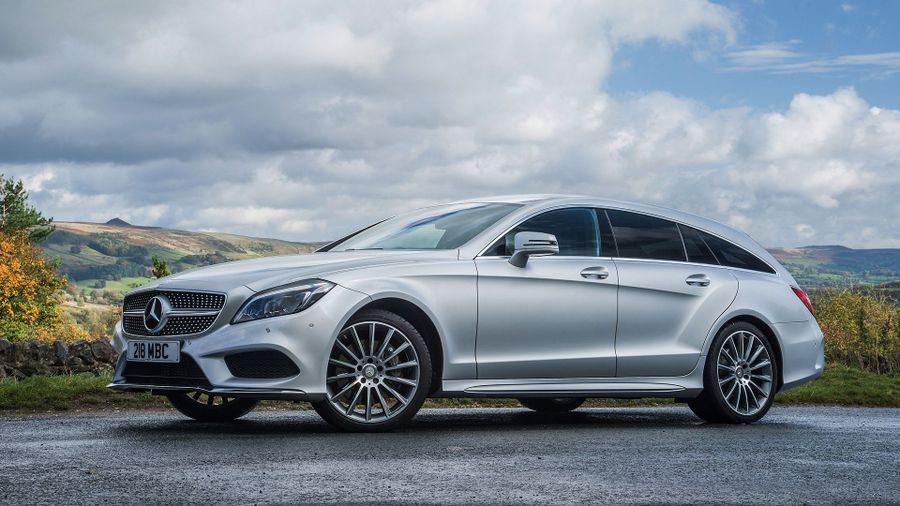 Mercedes CLS Shooting Brake styling