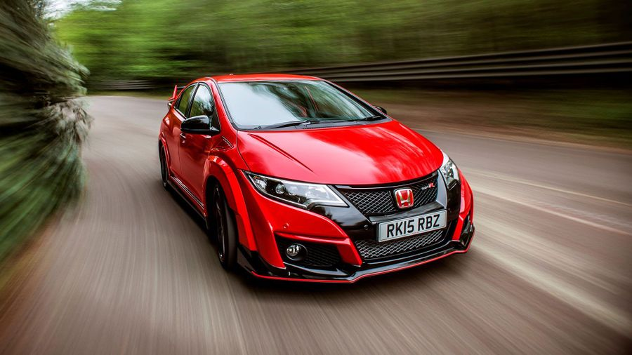 Honda Civic Type R ride