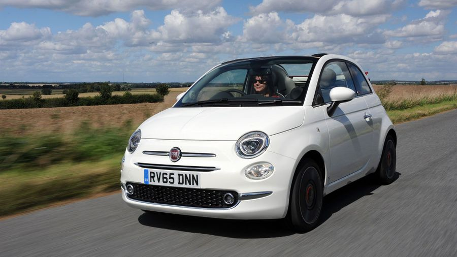2015 Fiat 500C ride and handling
