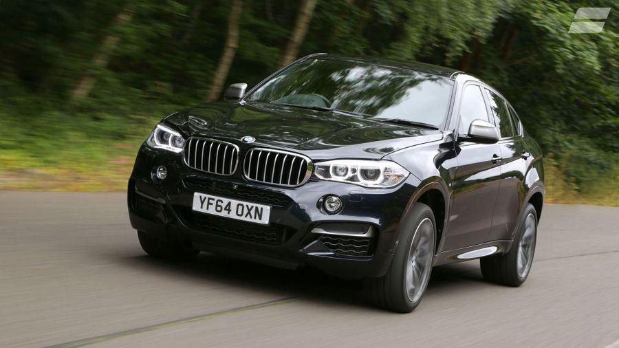 BMW X6 refinement