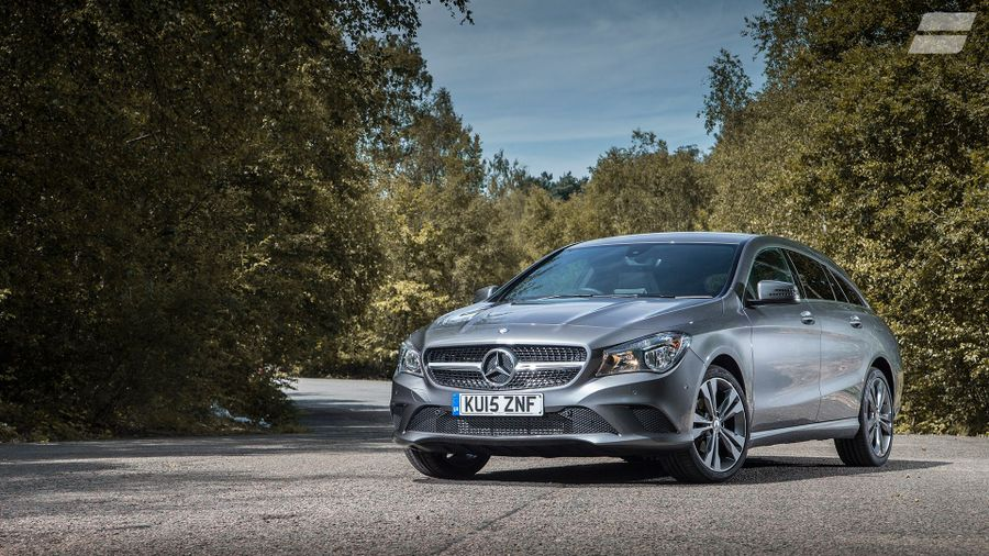 Mercedes CLA Shooting Brake exterior