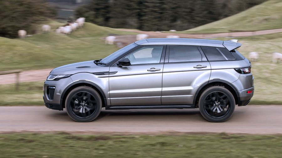Range Rover Evoque ride and handling