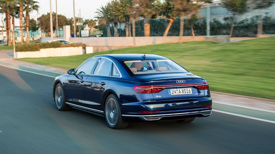 2018 Audi A8 performance