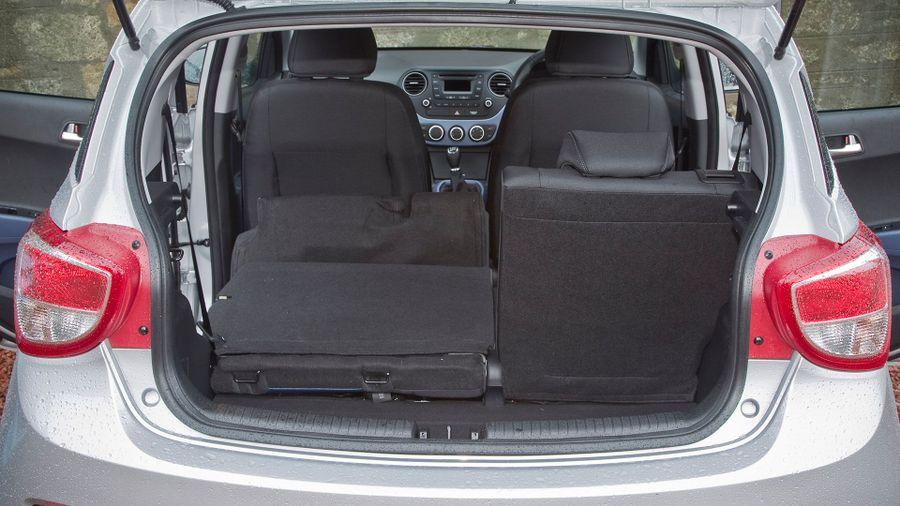 Hyundai i10 practicality