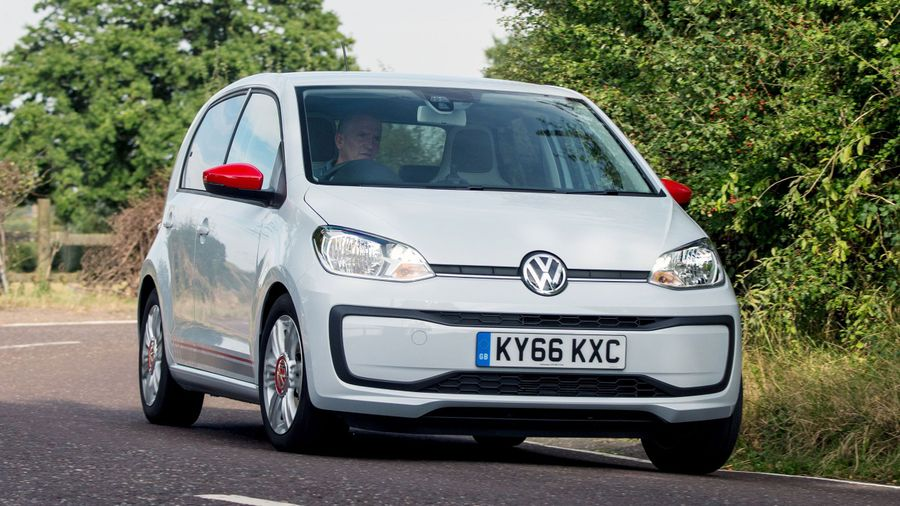 2016 Volkswagen Up ride and handling