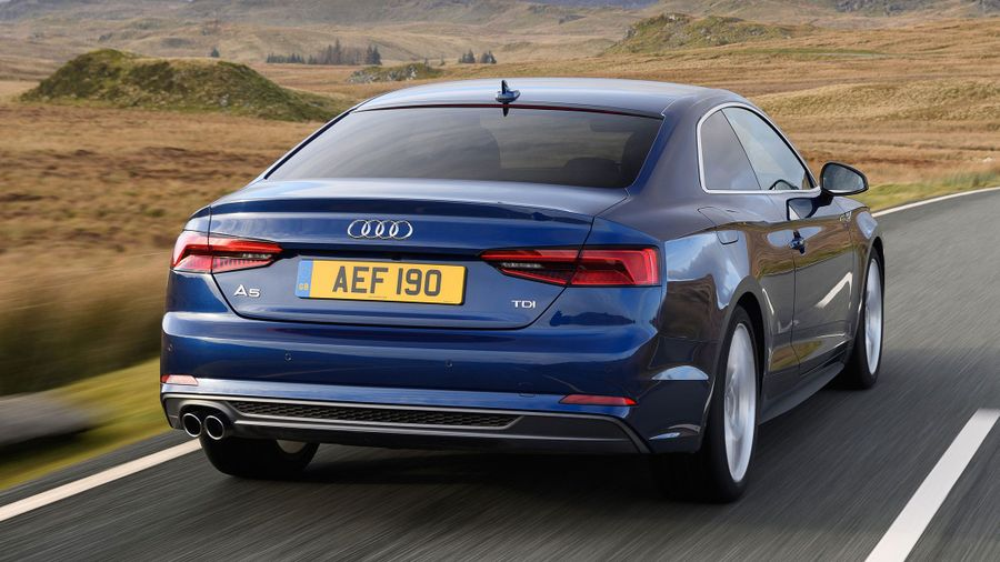 2017 Audi A5 Coupe Handling