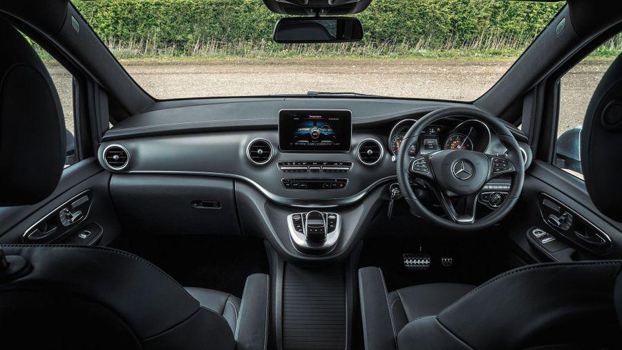 2015 Mercedes-Benz V-Class interior