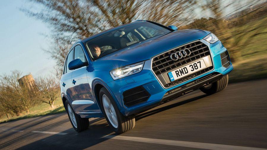 2015 Audi Q3 front track