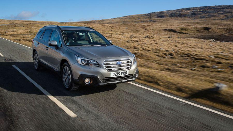 Subaru Outback ride