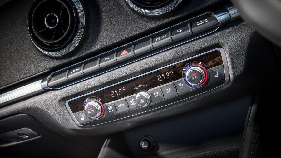 Audi A3 cabriolet equipment
