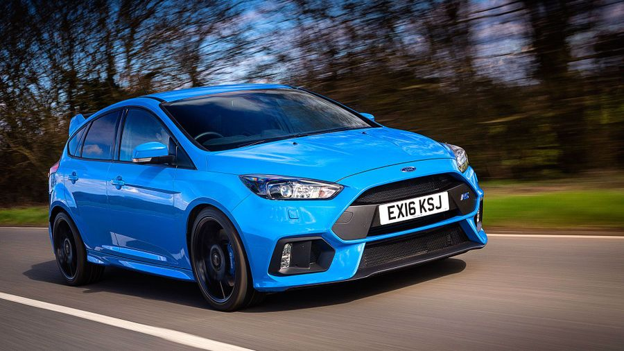 ford focus rs 2003 sound