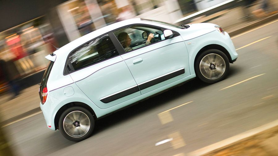 Renault Twingo ride and handling