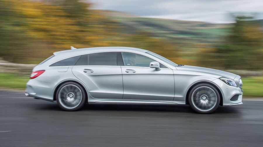 Mercedes CLS Shooting Brake handling
