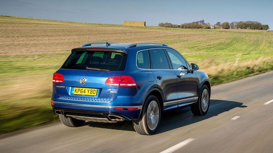 Volkswagen Touareg ride