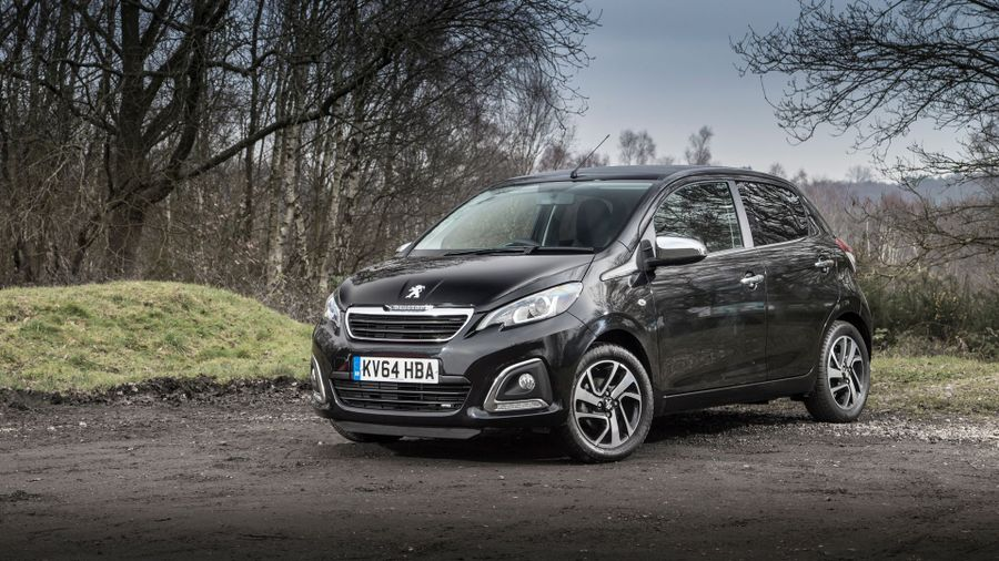 Peugeot 108 styling