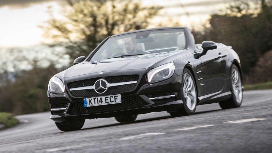 Mercedes SL exterior