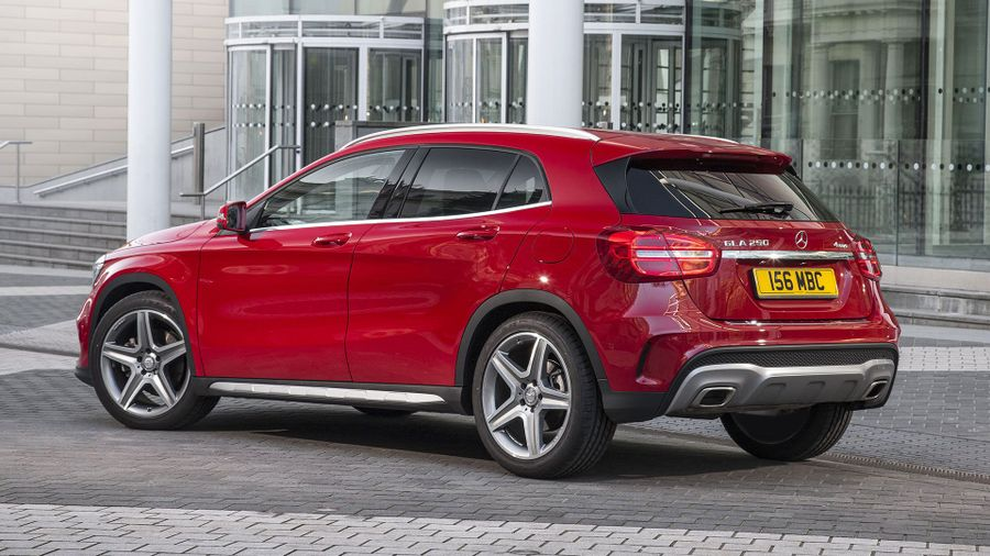 Mercedes GLA exterior