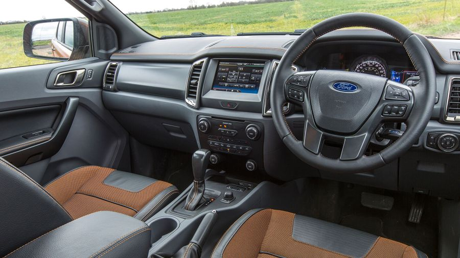 2016 Ford Ranger interior