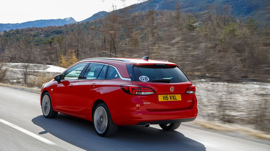 2016 Vauxhall Astra Sports Tourer performance