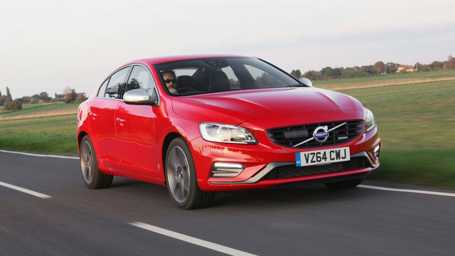 2013 Volvo S60 front tracking