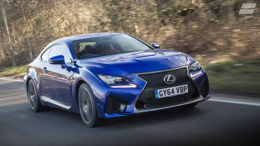 2015 Lexus RC F ride
