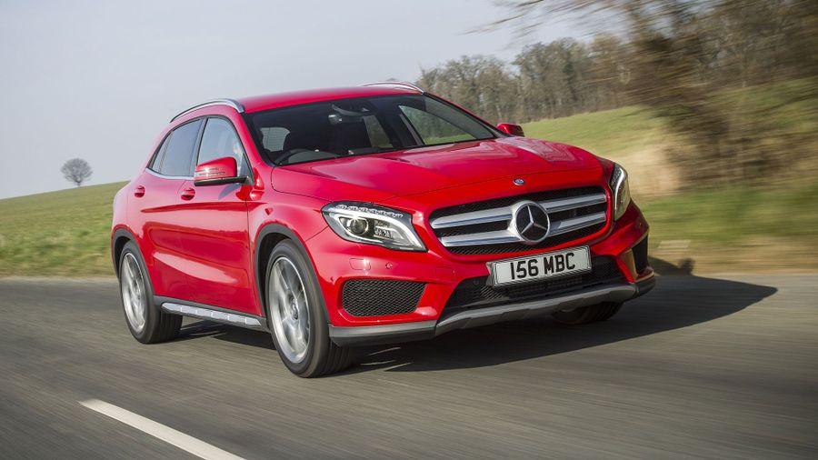 Mercedes GLA on-road