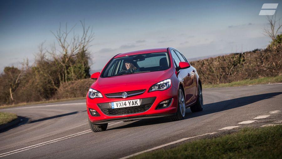 Vauxhall Astra handling