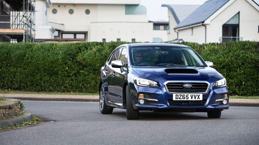2015 Subaru Levorg handling