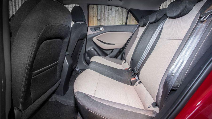 Hyundai i20 hatchback practicality