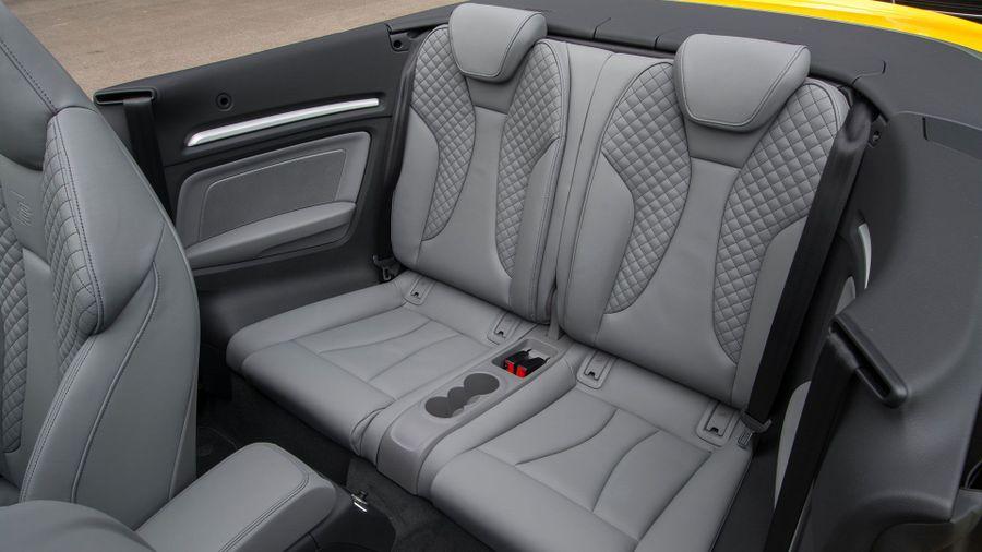 2016 Audi A3 Cabriolet interior