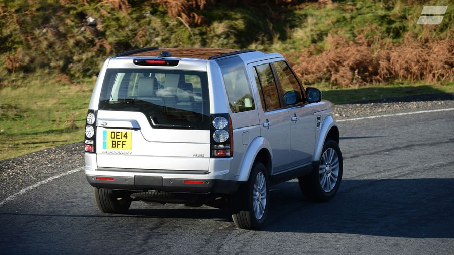 Land Rover Discovery handling