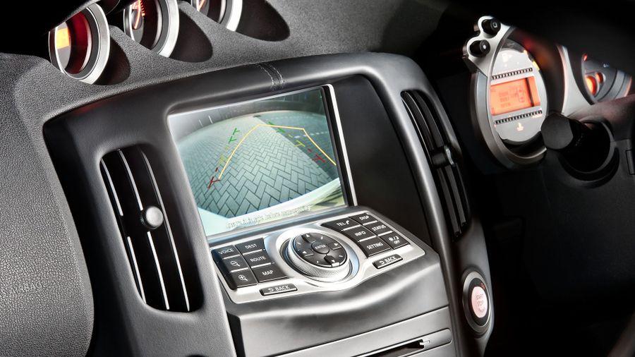 2014 Nissan 370Z GT rear camera