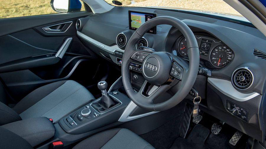 2016 Audi Q2 SUV interior