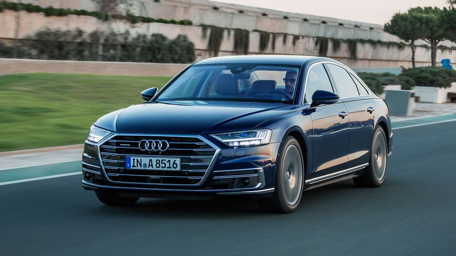 2018 Audi A8 ride and handling