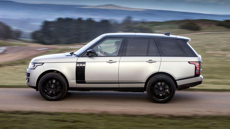 Range Rover ride
