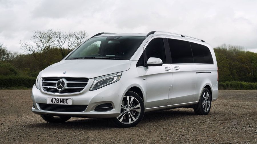 2015 Mercedes-Benz V-Class front static